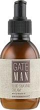 Парфумерія, косметика Крем-флюїд для гоління - Emmebi Italia Gate Man Fluid Shaving Cream