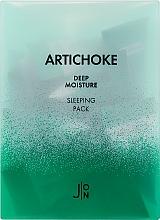 Духи, Парфюмерия, косметика Ночная увлажняющая маска для лица с артишоком - J:ON Artichoke Deep Moisture Sleeping Pack (мини)