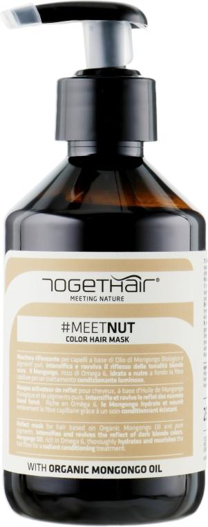 Оттеночная маска для волос - Togethair Meeting Nature Color Hair Mask Nut