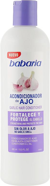 """Кондиционер для волос """"Чесночный"""" - Babaria Garlic Hair Conditioner"""