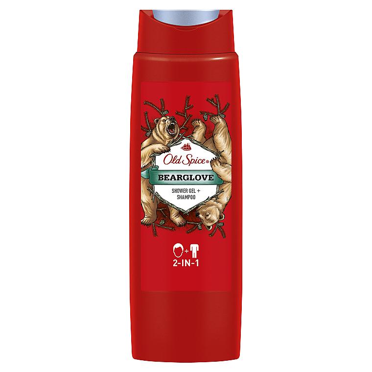 Шампунь-гель для душа 2в1 - Old Spice Bearglove Shower Gel + Shampoo 2-in-1