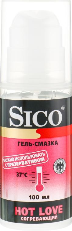Гель-смазка, согревающая - Sico Hot Love Gel Lubricant