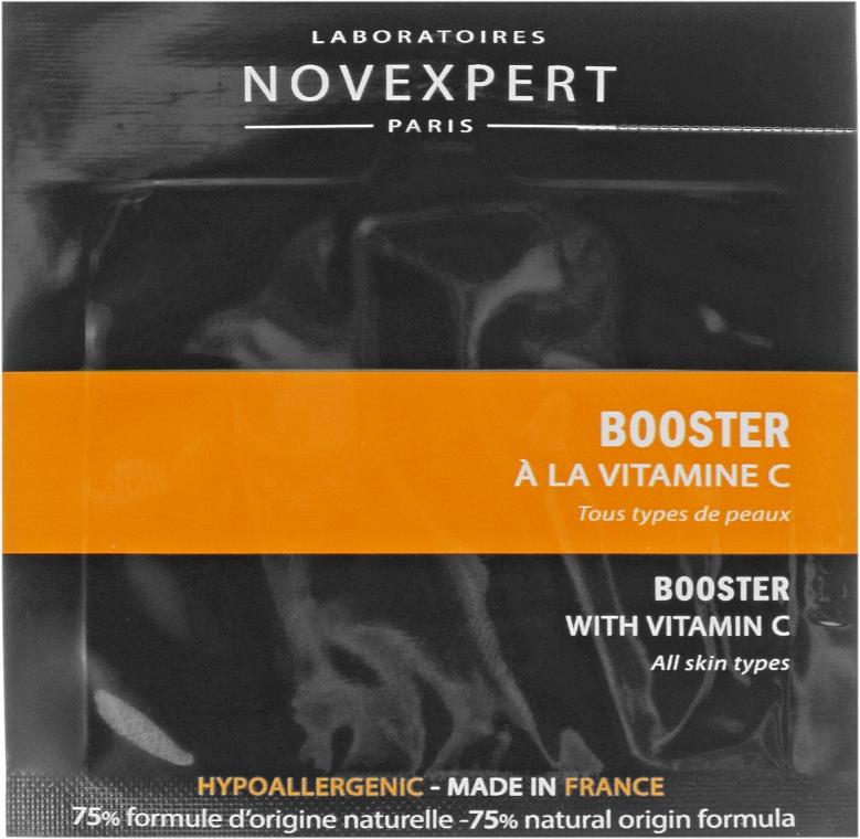 Сыворотка-бустер с витамином С - Novexpert Vitamin C Booster (пробник)