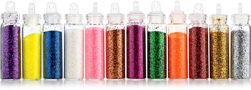 Песок для ногтей, разноцветный - Avenir Cosmetics
