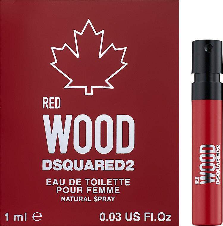 Dsquared2 Red Wood - Туалетная вода (пробник)