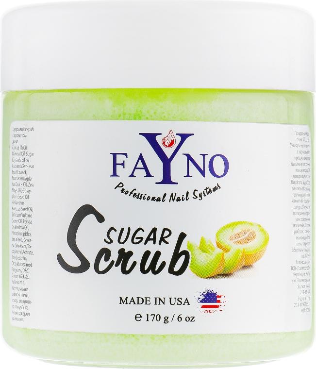 """Сахарный скраб """"Дыня"""" - Fayno Sugar Scrub"""