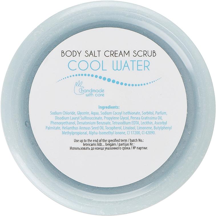 Скраб для тіла сольовий - Ceano Cosmetics Salt Body Scrub Cool Water — фото N2