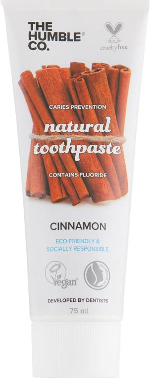 """Натуральная зубная паста """"Корица"""" - The Humble Co. Natural Toothpaste Cinnamon"""