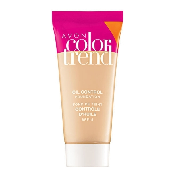 """Бархатный тональный крем для лица """"Блеск-контроль"""" - Avon Color Trend"""