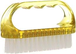 Духи, Парфюмерия, косметика Щетка косметическая для ногтей, 74752, желтая - Top Choice