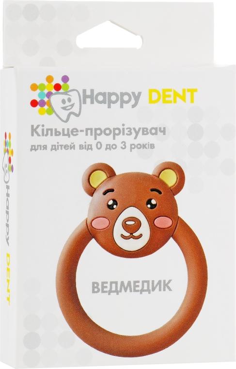 Прорезыватель для зубов, мишка - Happy Dent