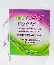 "Духи, Парфюмерия, косметика Биоцеллюлозная нано-файбер маска для лица антивозрастная ""Косметическая биокожа"" - Biotonale Biocellulose Anti Ageing Face Mask"