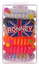 Духи, Парфюмерия, косметика Резинки для волос - Ronney Professional Funny Ring Bubble 7