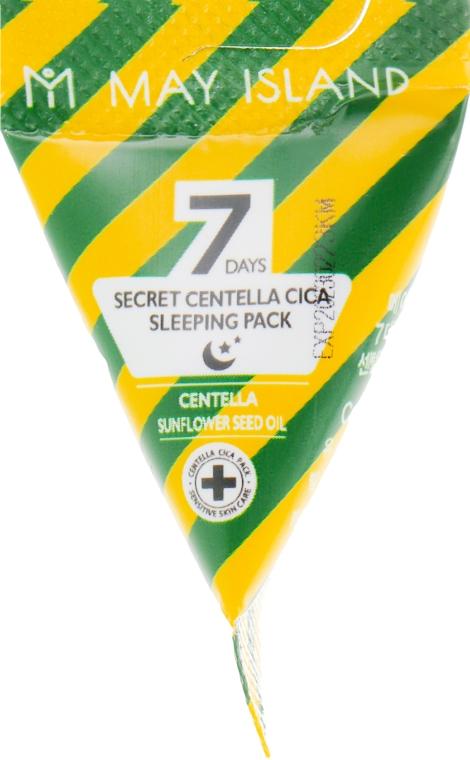 Успокаивающая ночная маска с центеллой - May Island Seven Days Secret Centella Cica Sleeping Pack