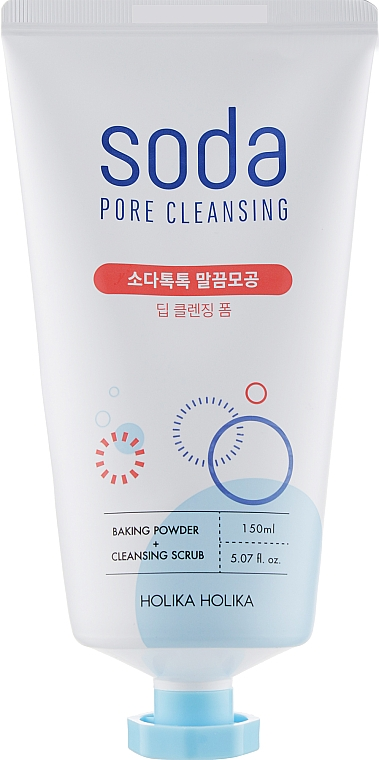 Пенка для глубокой очистки - Holika Holika Soda Tok Tok Clean Pore Deep Cleansing Foam