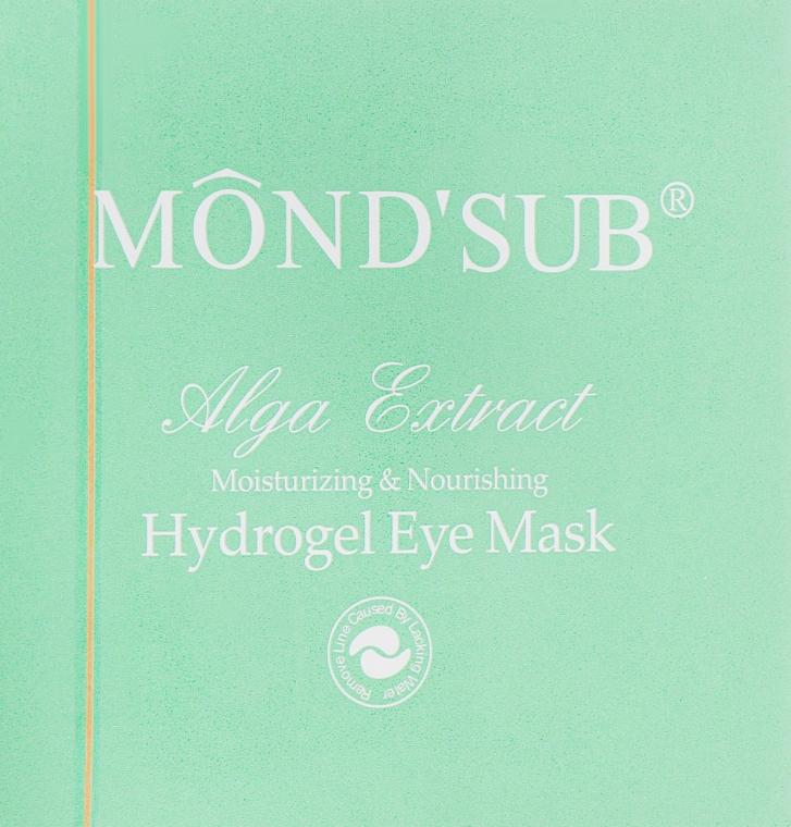 Гидрогелевые патчи для глаз с коллагеном и экстрактом водорослей - Mond'Sub Alga Extract Hydrogel Eye Mask