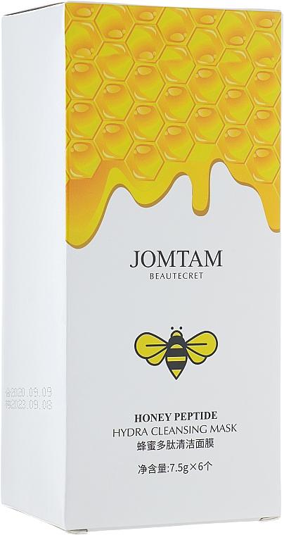 Ночная очищающая маска для лица - Jomtam Honey Peptide