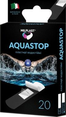 """Водостойкие пластыри """"Aquastop"""", 20шт - Milplast"""