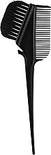 Духи, Парфюмерия, косметика Кисть для окрашивания волос с расческой и крючком, черная - Vero Professional