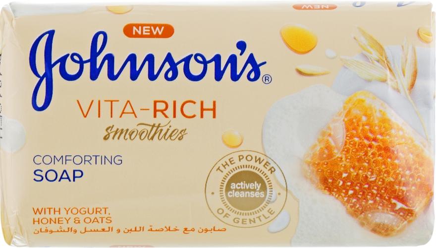 Мыло с йогуртом, медом и овсом - Johnson's® Vita Rich