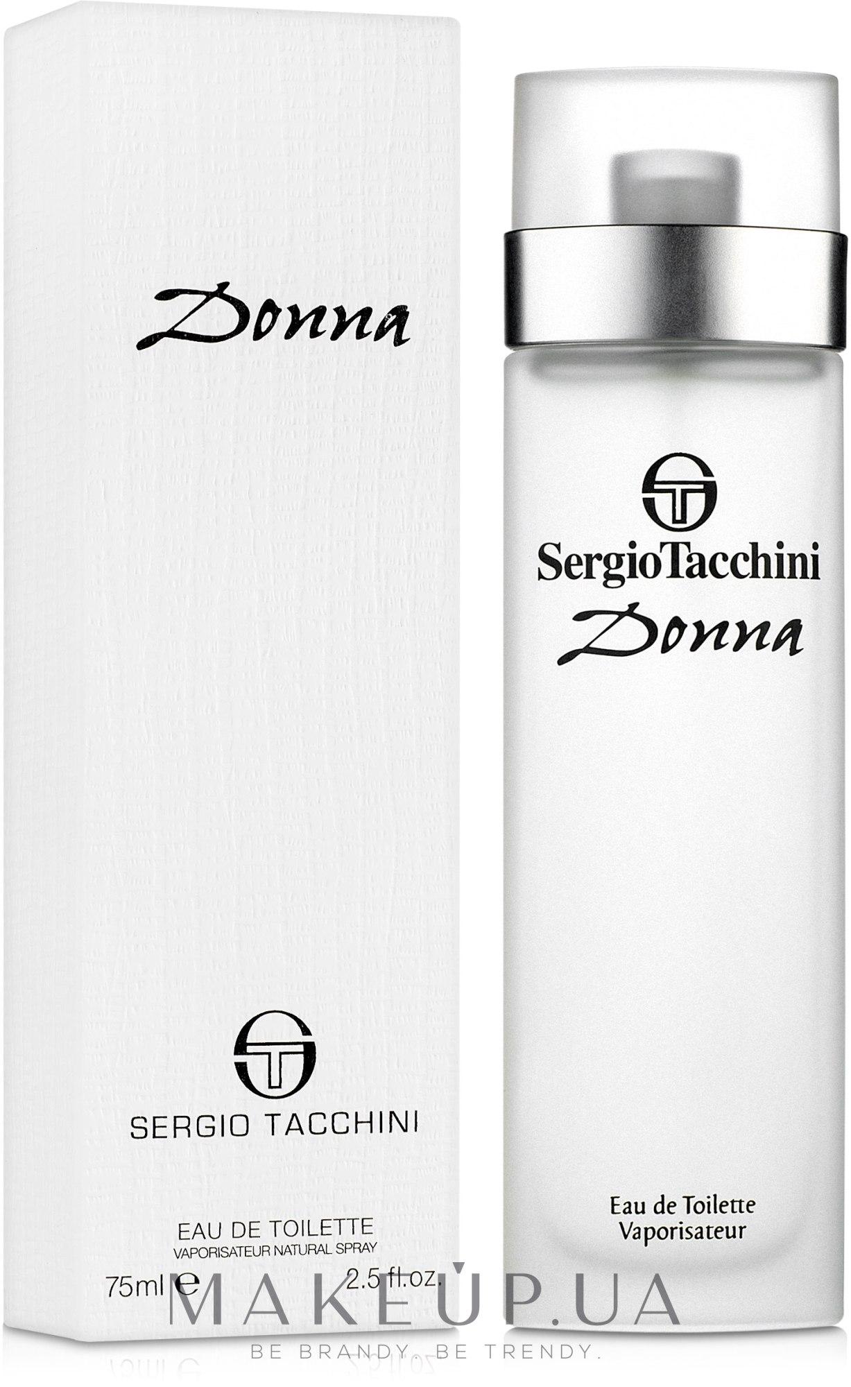 Sergio Tacchini Donna - Туалетная вода — фото 75ml