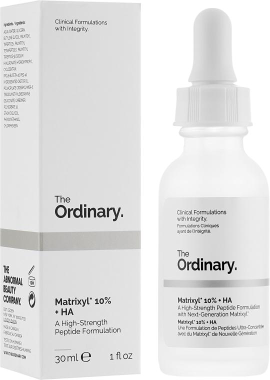 Пептидная сыворотка с гиалуроновой кислотой - The Ordinary Matrixyl 10% + HA