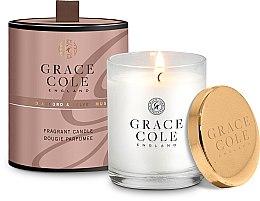 Духи, Парфюмерия, косметика Ароматизированная свеча - Grace Cole Boutique Oud Accord & Velvet Musk Fragrant Candle