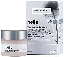 Духи, Парфюмерия, косметика Ночной крем для лица - Bella Night-Time Action Treatment Repairs & Anti-Dark Spots