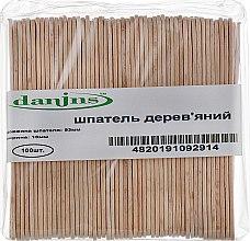 Духи, Парфюмерия, косметика Шпателя деревянные маленькие - Danins