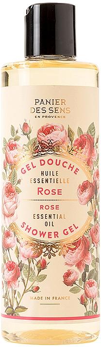 "Гель для душа ""Роза"" - Panier des Sens Shower Gel Rejuvenating Rose"