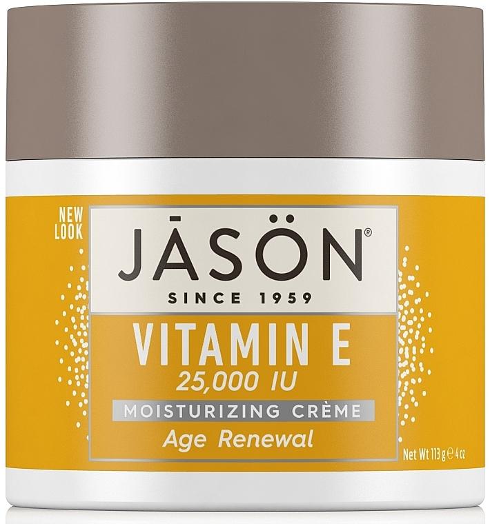 Крем для лица и тела восстанавливающий с витамином Е - Jason Natural Cosmetics Age Renewal Vitamin E