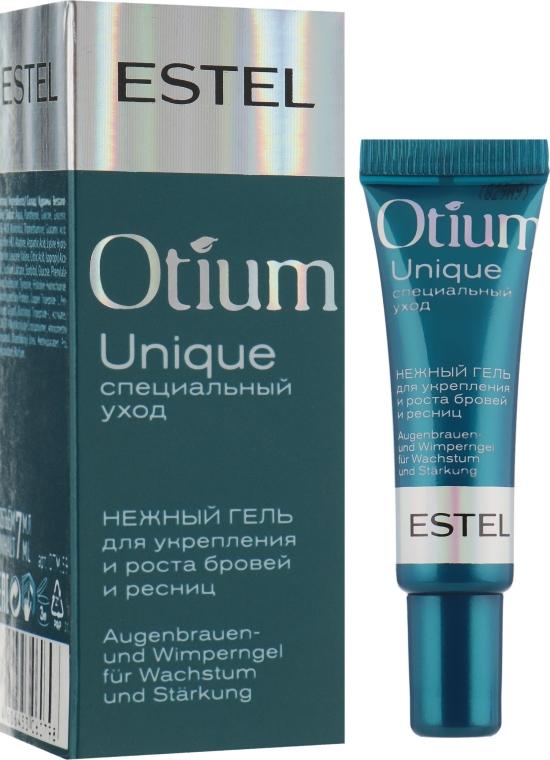 Нежный гель для укрепления и роста ресниц - Estel Professional Otium Unique