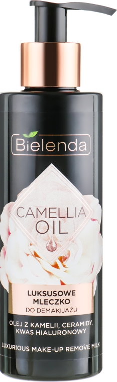 Молочко для снятия макияжа - Bielenda Camellia Oil Luxurious Make-up Removing Milk