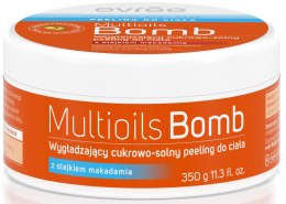 Духи, Парфюмерия, косметика Скраб для тела - Evree Multioils Bomb Smoothing Salt-Sugar Body Scrub