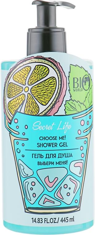 "Гель для душа ""Выбери меня!"" - Bio World Secret Life Hydro Therapy Choose Me! Shower Gel"