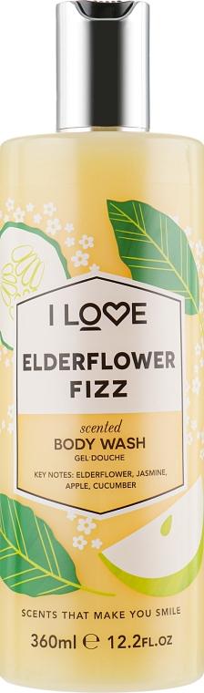 Гель для душа «Коктейль из бузины» - I Love Elderflower Fizz Body Wash
