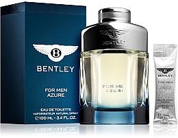 Духи, Парфюмерия, косметика Bentley Bentley For Men Azure - Набор (edt/100ml + afsh/balm/5ml)