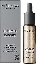 Духи, Парфюмерия, косметика Хайлайтер - Madara Cosmetics Cosmic Drops Buildable Highlighter