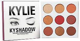 Духи, Парфюмерия, косметика Палетка теней для век - Kylie Cosmetics Kyshadow The Burgundy Palette