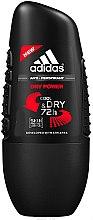 Духи, Парфюмерия, косметика Шариковый антиперспирант - Adidas Dry Power Anti-Perspirant Cool & Dry 72 h