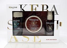 Духи, Парфюмерия, косметика Набор - Kerastase Aura Botanica Travel (shamp/80ml + mask/75 ml + oil/50 ml)