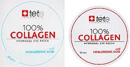 Духи, Парфюмерия, косметика Коллагеновые патчи под глаза - TETe Cosmeceutical 100% Collagen Hydrogel Patch