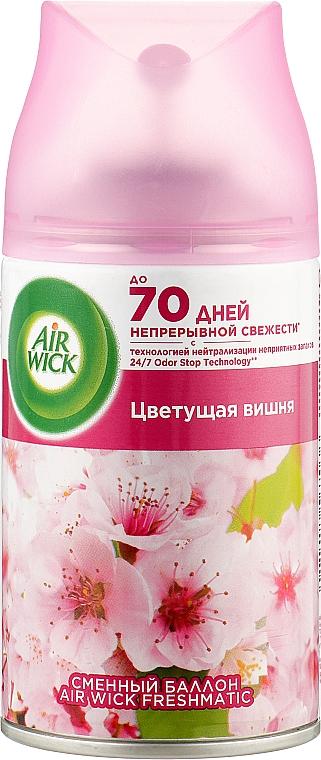 "Сменный аэрозольный баллон ""Цветущая вишня"" - Air Wick Freshmatic Pure"