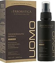 Дезодорант з екстрактом гінкго білоба - athena's Erboristica Uomo Deodorant Spray — фото N1