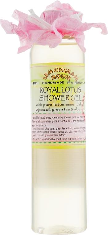 """Гель для душа """"Королевский лотос"""" - Lemongrass House Royal Lotus Shower Gel"""
