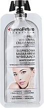 Духи, Парфюмерия, косметика Отбеливающая крем-маска - Dermo Future Express Whitening Cream-Mask