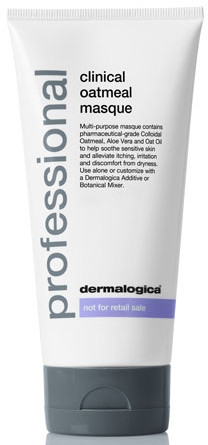 Dermalogica Professional Clinical Oatmeal Masque - Клиническая овсяная маска для чувствительной кожи лица: купить по лучшей цене в Украине   Makeup.ua