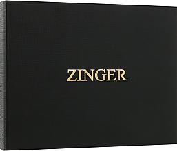 Духи, Парфюмерия, косметика Маникюрный набор MSFE-804-2 S, серый - Zinger