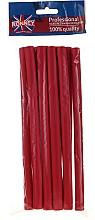 Духи, Парфюмерия, косметика Бигуди для волос гибкие 12/210 мм, 10 шт, красные - Ronney Professional Flex Rollers