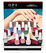 Духи, Парфюмерия, косметика Набор - O.P.I Gel Color Hollywood Spring 2021 16pc Salon Display (gel/polish/12x15ml + base/coat/2x15ml + top/coat/2x15ml + display/1pcs + color/chart/1pcs + palette/1pcs)